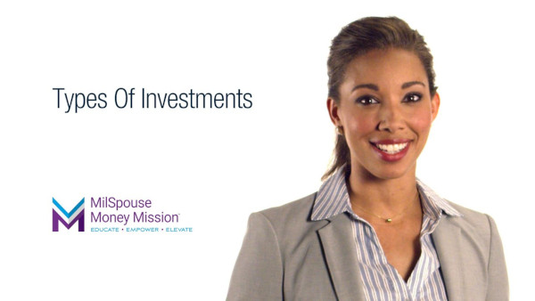 Invest Wisely - Save & Invest - Types of Investments