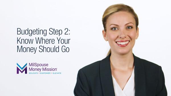Create A Budget -Step 2